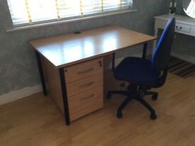 Office Desk/chest/chair