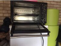 CHARLES JACOBS MINI OVEN WITH HOTPLATES