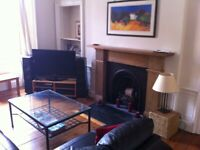 Spacious fully furnished 2 bed Buccleuch street flat for rent
