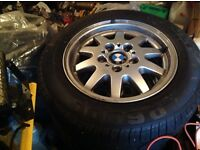 BMW 3 Series set of 4 Alloys with tyres