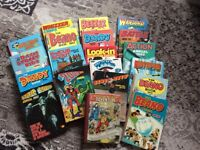 Job lot of old annuals