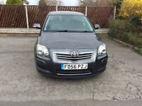 TOYOTA AVENTIS T3SD-4D DIESEL.112000ml.MOT30/11/18.FULL SERVICE HISTORY. IMMACULATE CONDITION.