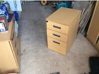 Quality 3 drawer cabinet for home or office...
