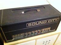 Sound City 120 Valve Amp