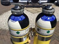 7ltr twinset, good as new, check pics for test date