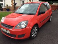 Nov 2007 Ford Fiesta 1.4 TDCI £30 tax