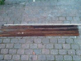 Metal stakes 6ft