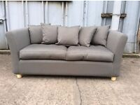 Kendle 2 Seat Sofa Bed in Grey - Ex Display - £250 Including Free Local Delivery (£579 RRP!!)