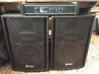 PA Amplifier & Speakers