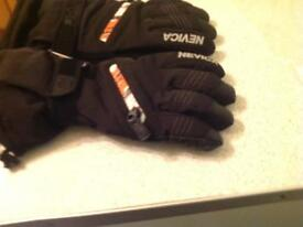 Pair of large motorbike gloves as new made by nevica a good brand