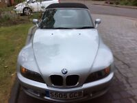 BmwZ3 sports car 1.9 1998 good all round condition , no rust, service history, mot