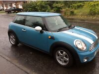 Mini one (2009/59)3 door hatch 1400 petrol VERY LOW MILES 27K