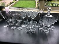 Crystal Decanter wine glasses mixed Glasses Guinness cy
