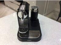 Nespresso magimix citiz coffee machine and aeroccino