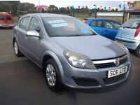 Vauxhall Astra club twin port 1.4 2006 only 65000 miles FSH (7 stamps) 5 door metallic silver