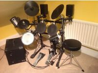 Roland Drum Kit TD3 with amp and speakers.