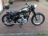 Royal Enfield 350cc only 4000 miles Bobber style 2002 year