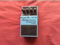 Boss CEB-3 bass guitar chorus effects pedal