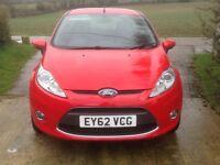 Lovely Ford Fiesta 1.2 sporting red, mot, serviced, great runner