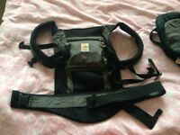 ERGO BABY CARRIER - With new baby inserts - excellent condition
