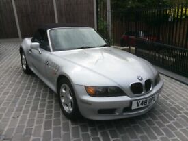 BMW Z3 silver convertible. Good condition. Sony radio/cd/MP3/USB. Electric windows and seats.