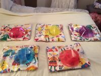 Child's placemat and dinner set