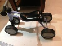 Kids first bike - excellent present - Puky woosh - blue - as good as new - trike (4-wheel)