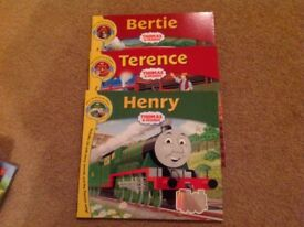Thomas the Tank engine books and story cds