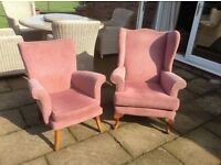 Parker Knowl His and Hers Chairs