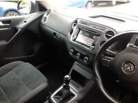 Tiguan 2.TDI Sport bluemotion 1 owner, serviced with Arnold Clark