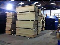 2190mm x 885mm x 25mm Chipboard Sheets Decking Boards Shelving Boarding