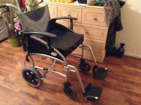 Z-Tec Lightweight Wheelchair