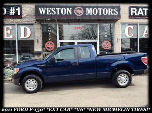 2011 Ford F-150 *EXT CAB*V6*NEW MICHELIN TIRES*