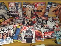 Nirvana/Kurt Cobain Music Magazine Collection