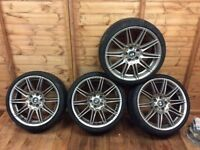 "BMW 19"" Alloy Wheels with Tyres"