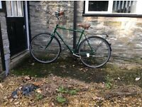 Dawes heritage gents cycle sit up and beg 22 inch frame green