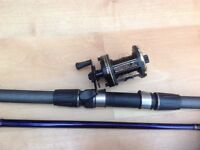Abu 13 ft and diawa 7ht reel
