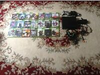 Xbox 360 bundle inc, Xbox 360 console, 22 games, 2 wireless controllers and turtle beach headset