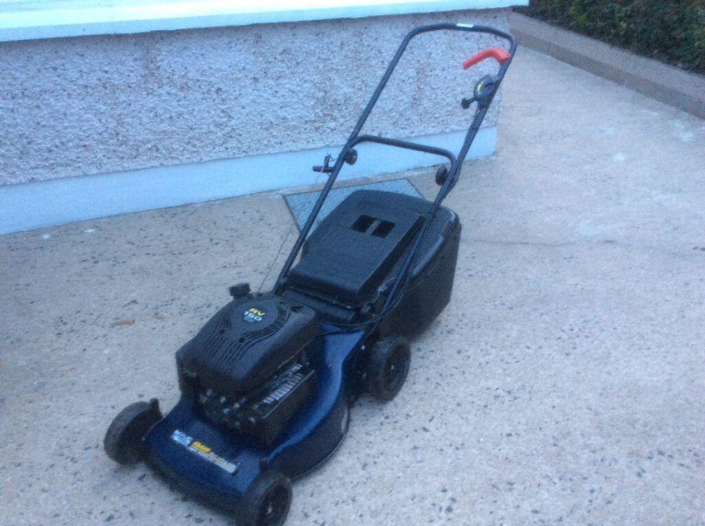 Mac Allister 484 Hp Petrol Lawnmower Rv 150 Mountfield 45