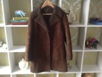 Woman's Sheepskin Jacket size 12/14