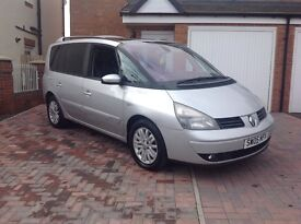 2005 RENAULT ESPACE 1.9 DIESEL, 7 SEATER, TOP OF THE RANGE MODEL, PX WELCOME