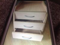 Bedside cabinet or office drawers