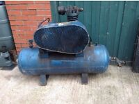 Welded Air Receiver Compressor