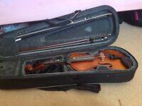 violin half size Primavera VGC