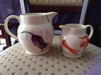 Emma Bridgewater Summertime Tulips Jugs