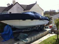 Mariah talari 24ft motor boat 2 berth cabin cruiser