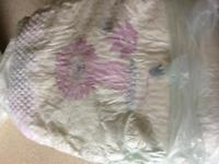 NOW COLLECTED. Sainsbury's size 6 nappies -bought in error. Free to good home!