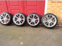 Genuine BMW 18 inch mv 3 alloys. 3 series and many other.