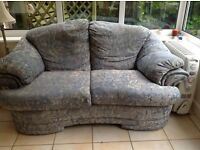 FREE SOFA - 2 & 3 Seater - CAN BE TAKEN SEPARATELY - Blue / Pink