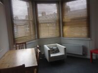 Newly decorated, spacious 2 double bedroom flat near Turnpike Lane in a Victorian conversion